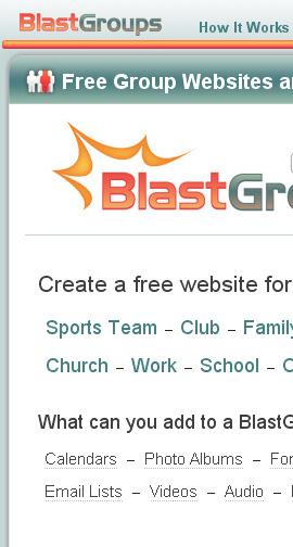 Blastgroups