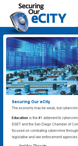 Securing our E-City